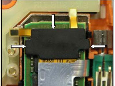 Как собрать телефон Sony Ericsson D750i/K758c/W800/W700 после замены деталей (19)