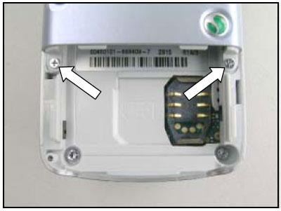 Как разобрать телефон Sony Ericsson D750i/K758c/W800/W700 (10)