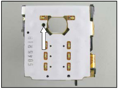 Как собрать телефон Sony Ericsson D750i/K758c/W800/W700 после замены деталей (12)