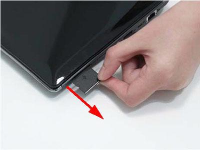 Как разобрать ноутбук Packard Bell dot s (6)