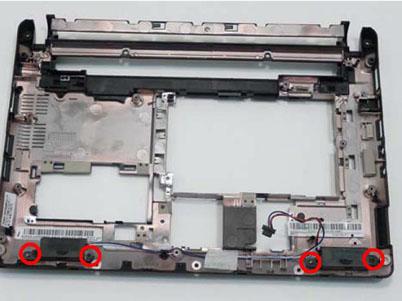 Как разобрать ноутбук Packard Bell dot s (94)