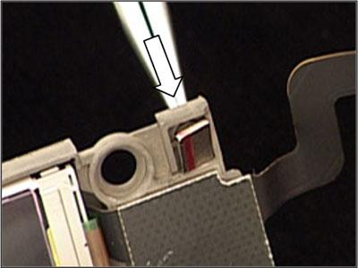 Как собрать телефон Sony Ericsson Z550i/Z550c/Z550a/Z558i/Z558c после замены деталей (49)
