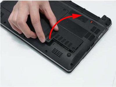 Как разобрать ноутбук Packard Bell dot s (7)