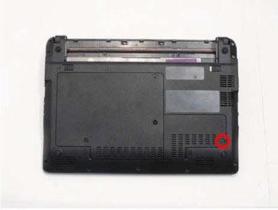 Как разобрать ноутбук Packard Bell dot s (8)