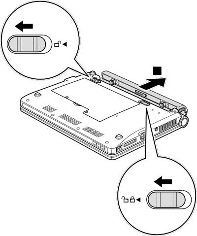 Как разобрать ноутбук Lenovo IdeaPad S9e/S10e/S10 (10)