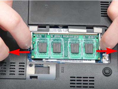 Как разобрать ноутбук Packard Bell dot s (9)