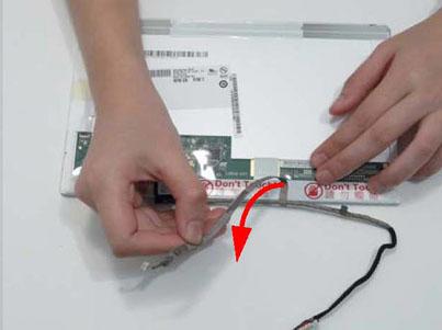 Как разобрать ноутбук Packard Bell dot s (109)