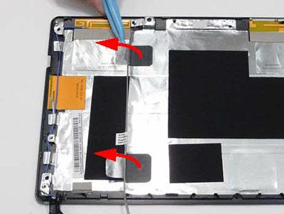 Как разобрать ноутбук Packard Bell dot s (113)