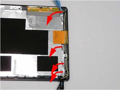 Как разобрать ноутбук Packard Bell dot s (116)
