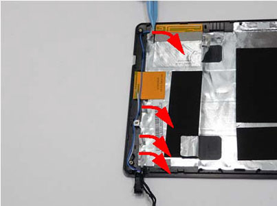Как разобрать ноутбук Packard Bell dot s (120)