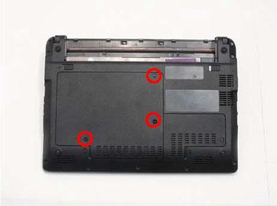 Как разобрать ноутбук Packard Bell dot s (11)