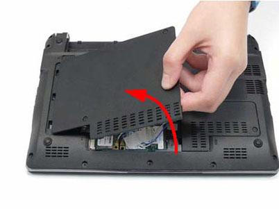 Как разобрать ноутбук Packard Bell dot s (12)