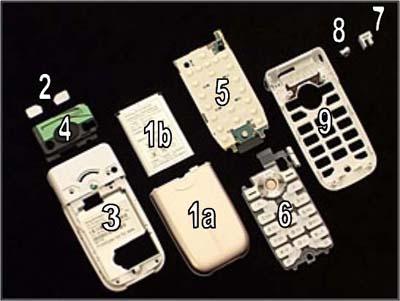 Как разобрать телефон Sony Ericsson Z550i/Z550c/Z550a/Z558i/Z558c (7)