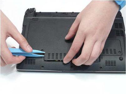 Как разобрать ноутбук Packard Bell dot s (13)