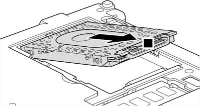 Как разобрать ноутбук Lenovo IdeaPad S9e/S10e/S10 (17)