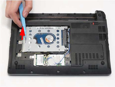 Как разобрать ноутбук Packard Bell dot s (14)