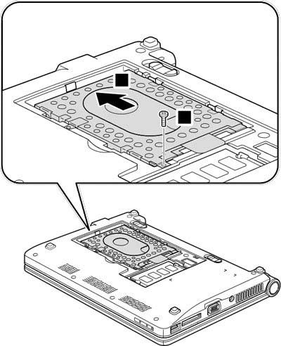 Как разобрать ноутбук Lenovo IdeaPad S9e/S10e/S10 (19)
