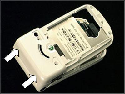 Как собрать телефон Sony Ericsson Z550i/Z550c/Z550a/Z558i/Z558c после замены деталей (33)