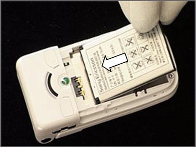 Как собрать телефон Sony Ericsson Z550i/Z550c/Z550a/Z558i/Z558c после замены деталей (41)