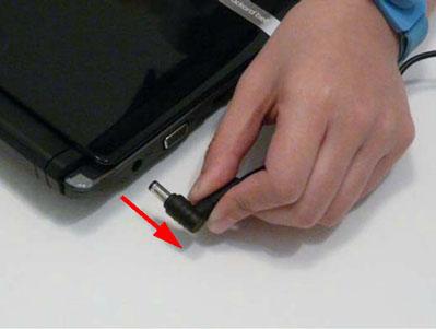 Как разобрать ноутбук Packard Bell dot s (2)