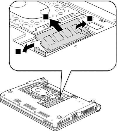 Как разобрать ноутбук Lenovo IdeaPad S9e/S10e/S10 (31)