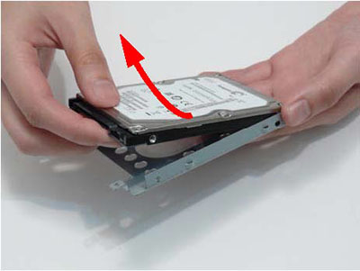 Как разобрать ноутбук Packard Bell dot s (19)