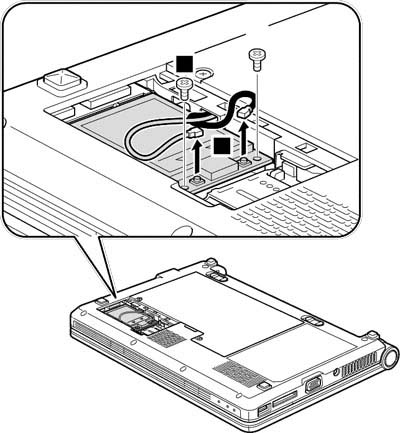 Как разобрать ноутбук Lenovo IdeaPad S9e/S10e/S10 (34)