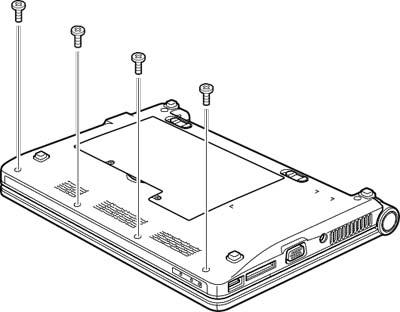 Как разобрать ноутбук Lenovo IdeaPad S9e/S10e/S10 (39)