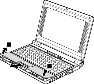 Как разобрать ноутбук Lenovo IdeaPad S9e/S10e/S10 (41)