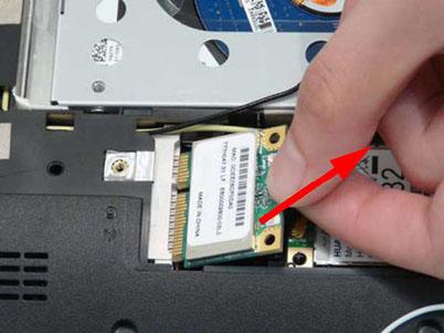 Как разобрать ноутбук Packard Bell dot s (25)