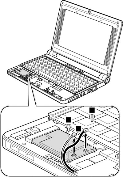 Как разобрать ноутбук Lenovo IdeaPad S9e/S10e/S10 (51)