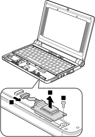 Как разобрать ноутбук Lenovo IdeaPad S9e/S10e/S10 (55)
