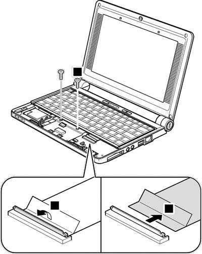 Как разобрать ноутбук Lenovo IdeaPad S9e/S10e/S10 (61)