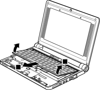 Как разобрать ноутбук Lenovo IdeaPad S9e/S10e/S10 (63)