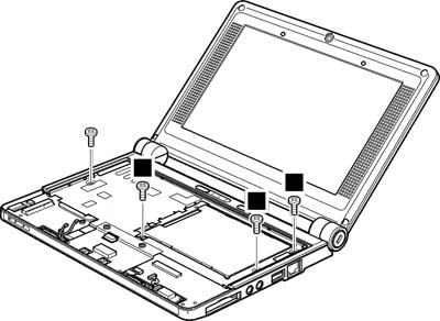 Как разобрать ноутбук Lenovo IdeaPad S9e/S10e/S10 (71)