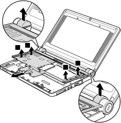 Как разобрать ноутбук Lenovo IdeaPad S9e/S10e/S10 (73)