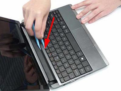 Как разобрать ноутбук Packard Bell dot s (32)