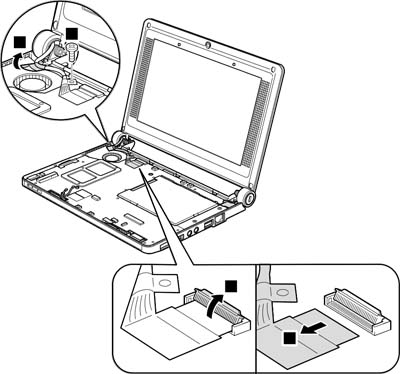 Как разобрать ноутбук Lenovo IdeaPad S9e/S10e/S10 (79)