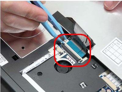 Как разобрать ноутбук Packard Bell dot s (37)