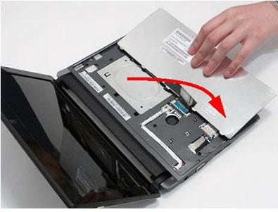 Как разобрать ноутбук Packard Bell dot s (38)