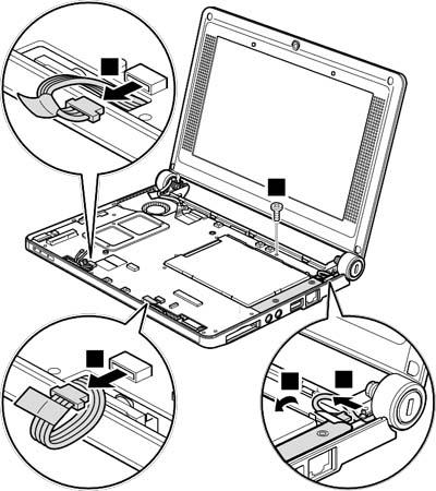 Как разобрать ноутбук Lenovo IdeaPad S9e/S10e/S10 (81)