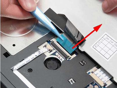 Как разобрать ноутбук Packard Bell dot s (39)