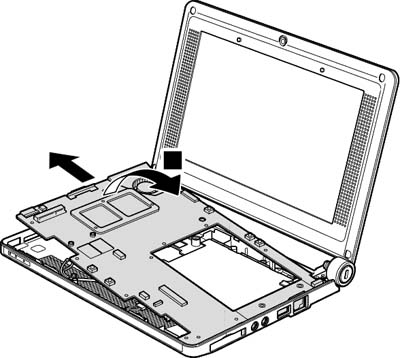 Как разобрать ноутбук Lenovo IdeaPad S9e/S10e/S10 (83)