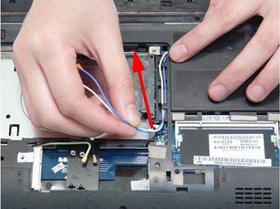 Как разобрать ноутбук Packard Bell dot s (46)