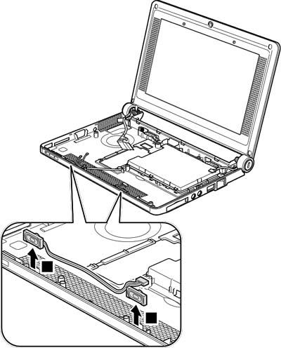 Как разобрать ноутбук Lenovo IdeaPad S9e/S10e/S10 (93)