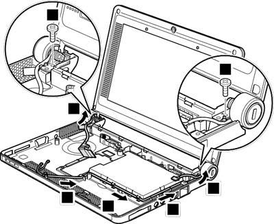 Как разобрать ноутбук Lenovo IdeaPad S9e/S10e/S10 (103)