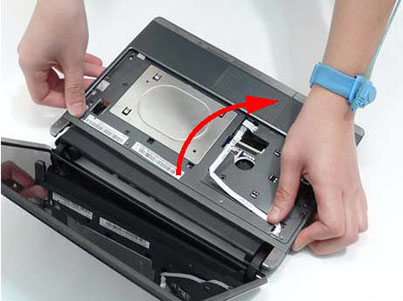 Как разобрать ноутбук Packard Bell dot s (51)