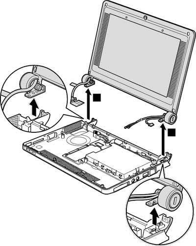 Как разобрать ноутбук Lenovo IdeaPad S9e/S10e/S10 (105)