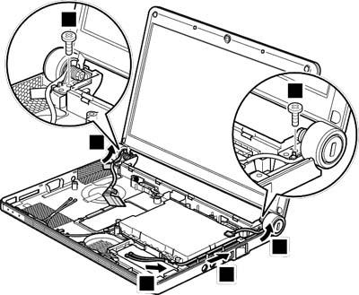 Как разобрать ноутбук Lenovo IdeaPad S9e/S10e/S10 (111)