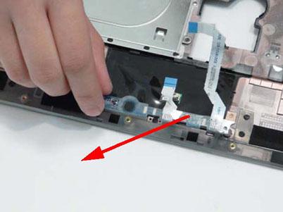Как разобрать ноутбук Packard Bell dot s (58)